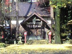 神明社の銀杏