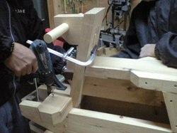 木馬作り2