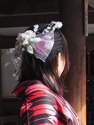 オリジナル髪飾り