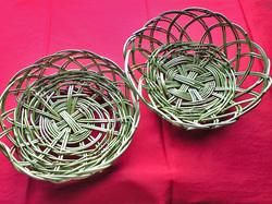 できた笹籠