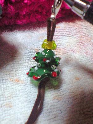 クリスマスツリーストラップ