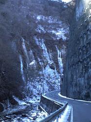 出合の氷柱
